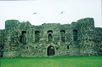 photograph of Beaumaris Castle in Wales
