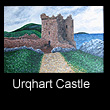 painting of Urqhart Castle