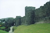 photograph of Conwy Castle in Wales