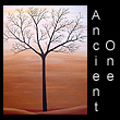 acrylic abstract landscape painting of tree (SOLD)