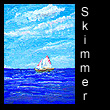 miniature painting of boat (SOLD)