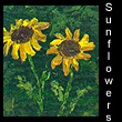 miniature painting of sunflowers (SOLD)