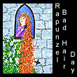 miniature painting of rapunzel (SOLD)