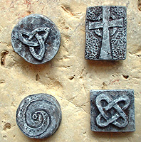 Celtic Mini-sculpture Magnets